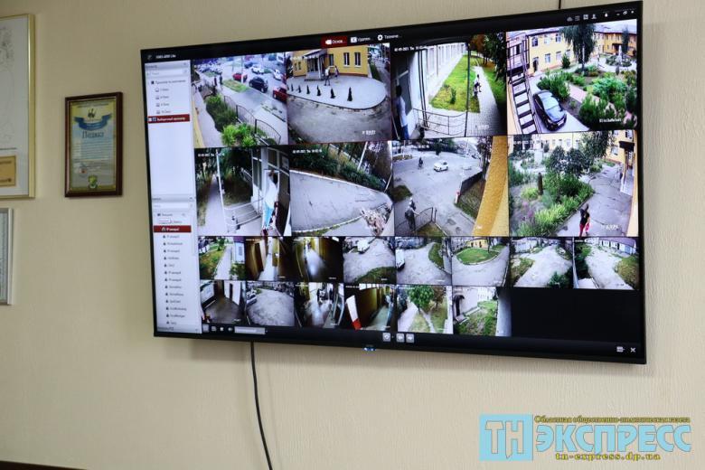 Больница №1. Камеры видеонаблюдения