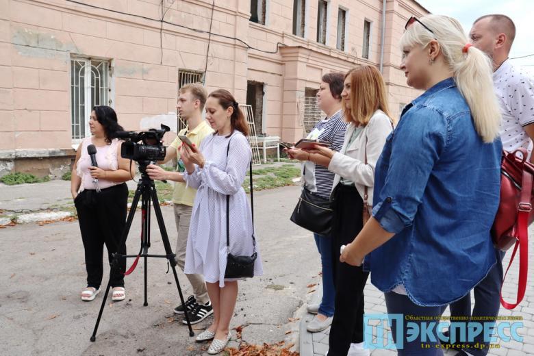 Журналисты Павлограда на пресс-брифинге