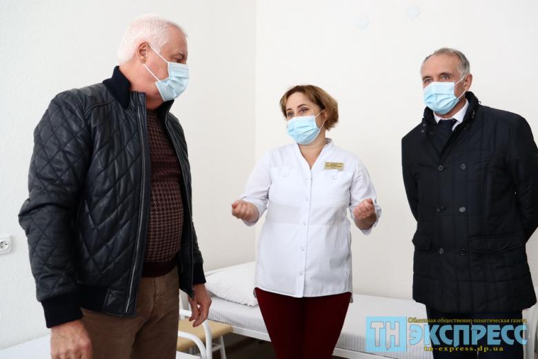 Дневной стационар больницы интенсивного лечения после капремонта