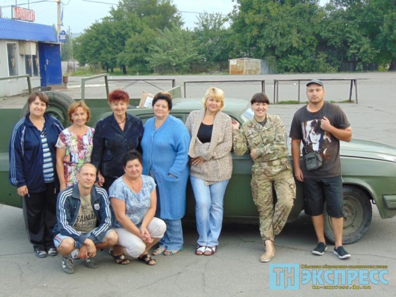 Волонтери з Павлограда та Миколаївки